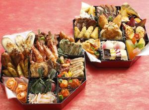 2015おせち料理2段